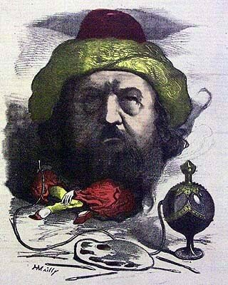 caricature_Th_ophile_Gautier_par_H_Mailly