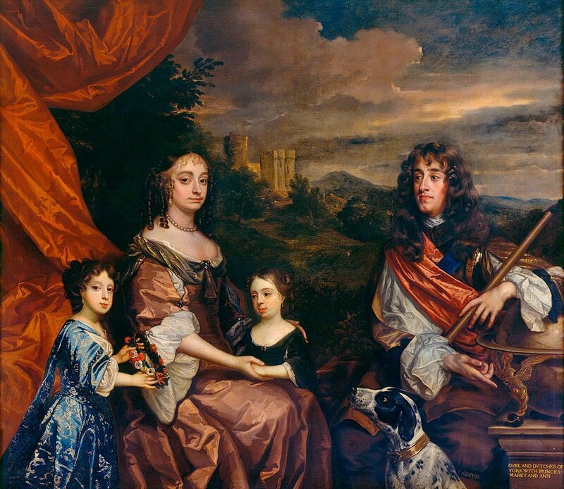 The_Duke_and_Duchess_of_York_with_their_two_daughters