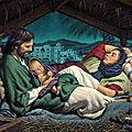 Invitation de la sainte famille pour noël...