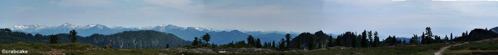 Panorama Mount Baker