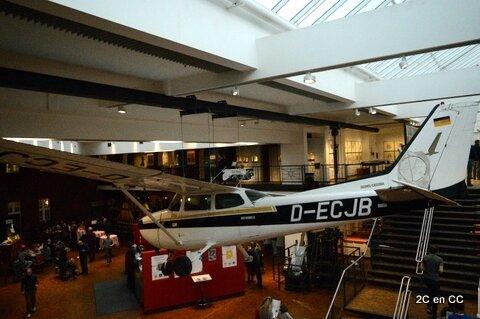 Cesna - Deutsches Technikmuseum - Berlin