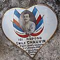 Chauvin emile (tilly) + 09/12/1918 salonique (grèce)