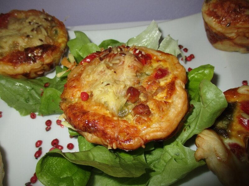 tartelettes chichon fromages