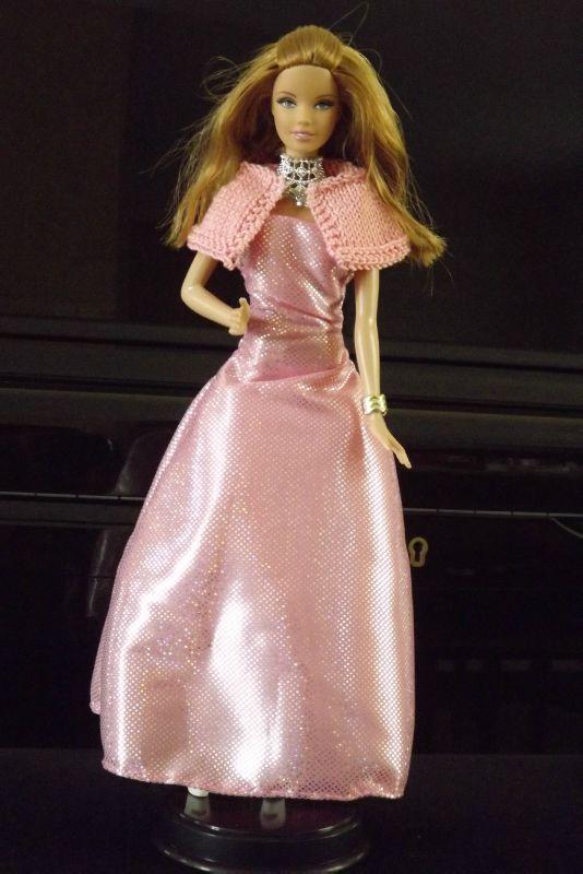 amandine robe rose argenté (4)