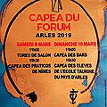 Arles - capea du forum