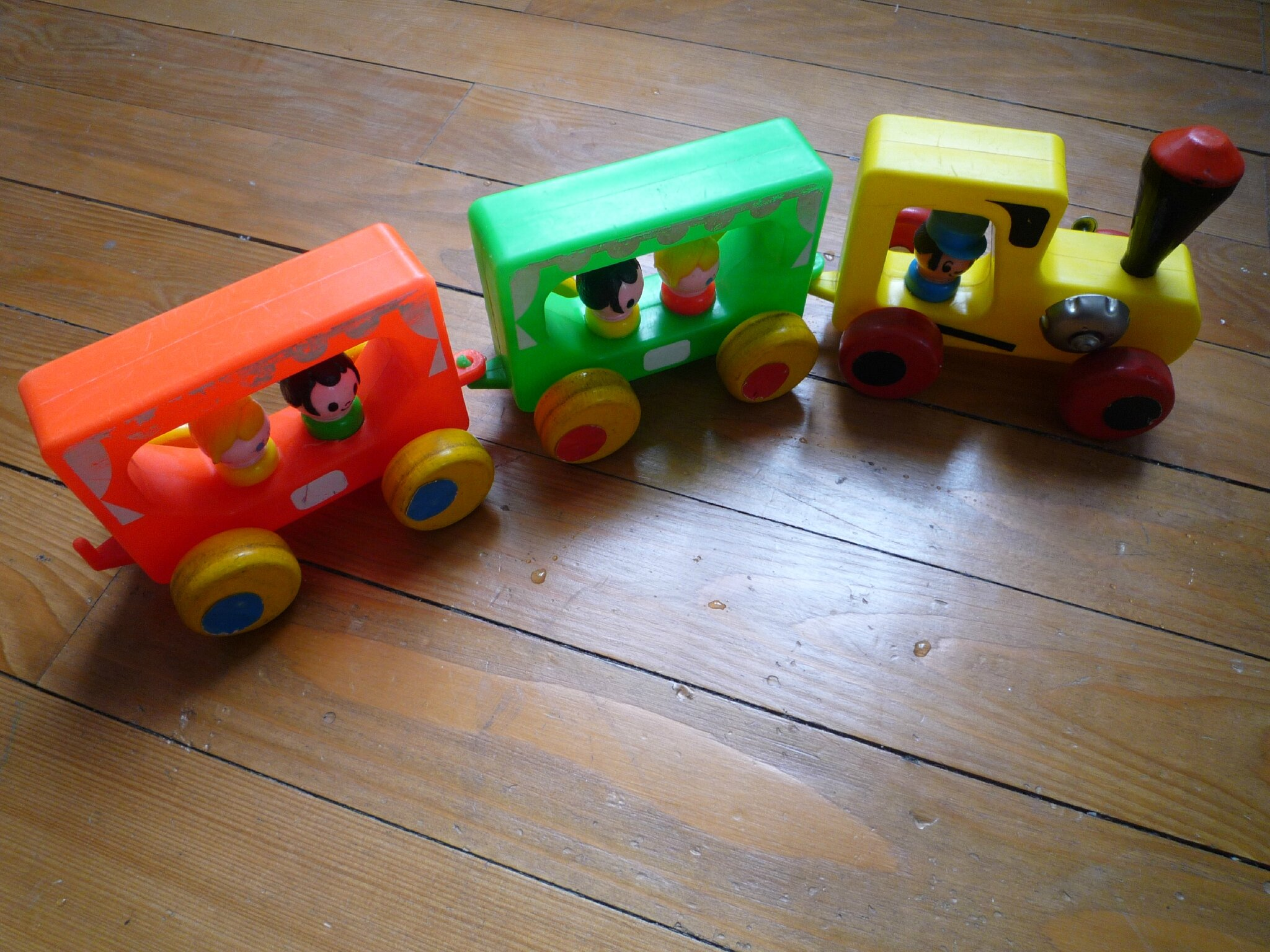 Petit train Educalux