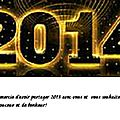 Sihane et le wax en folie vous souhaitent une tres bonne annee 2014