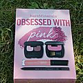 Coffret obsessed with pink de bareminerals, un top!!