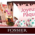 Jeu-concours avec mon partenaire biscuits fossier, pour gagner une composition à l'occasions des fêtes de pâques....