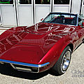 Chevrolet corvette convertible-1968