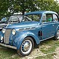 Renault juvaquatre berline 2 portes