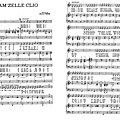 Mam'zelle clio - charles trenet (partition - sheet-music)