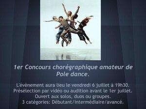 Concours Pole dance amateur lutetiablog lutetia blog