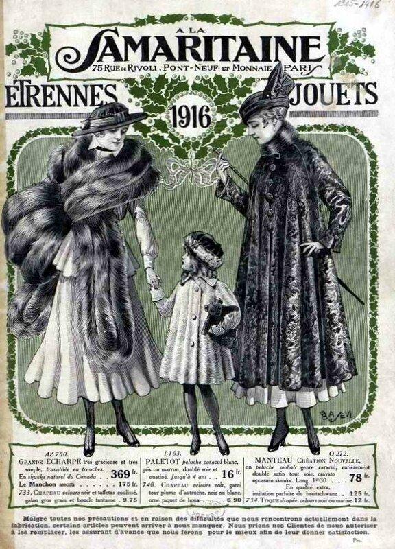 Samaritaine jouets 1916-1