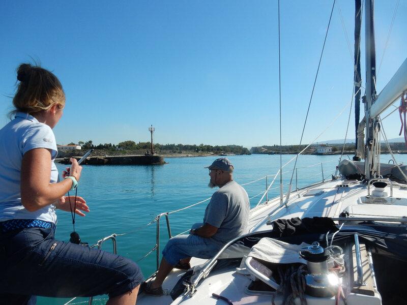 Entrée du canal de Corinthe, Posidonia 271018 DSCN8467