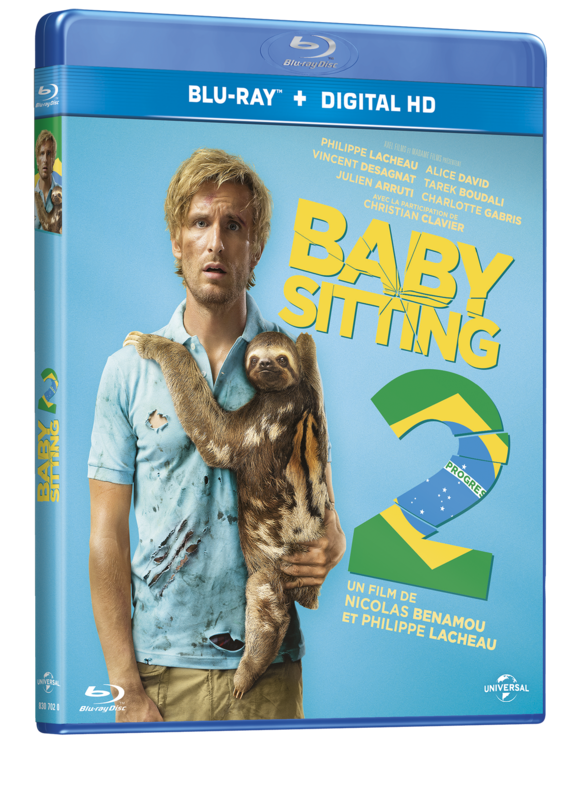 BLURAY BABYSITTING 2