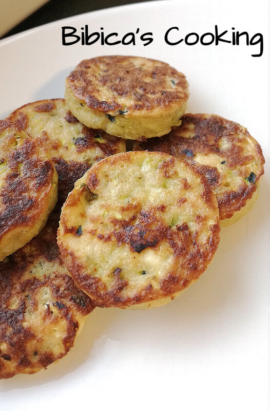 Galettes de courgettes {i-Cook'in}