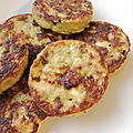 Galettes de courgettes {i-cook'in)