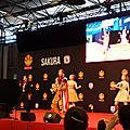 Spectacle Takarazuka sur scène Sakura