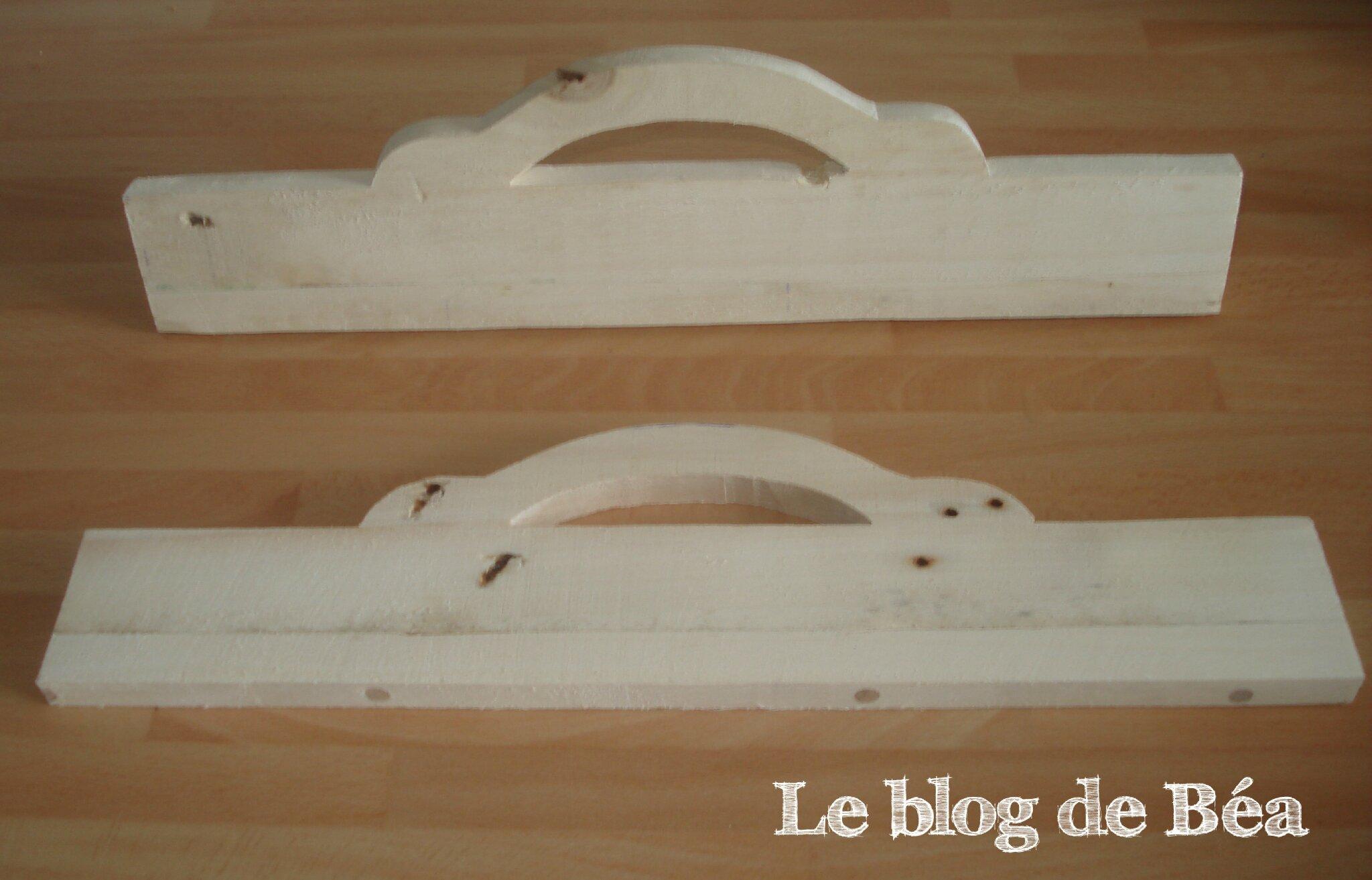 DIY fabriquer un plateau en bois de palette