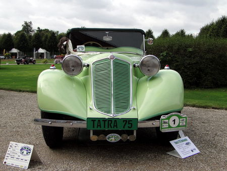 TATRA 75 Bohemia Cabriolet 1935 Classic Gala de Schwetzingen 2009 1