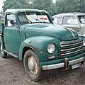 Fiat 500c topolino belvedere transformée plateau-ridelles 1951