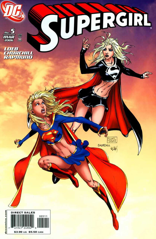 supergirl 2005 05 churchill turner cover