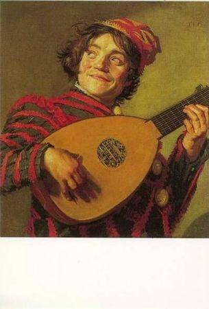 Luth CPM Peintre Frans Hals