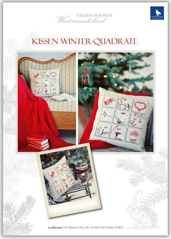kissen winter quadrate