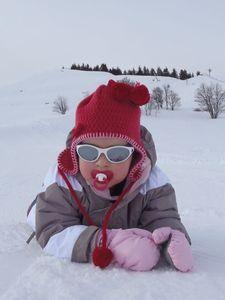 lulu dans neige