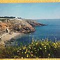 St Gildas de Rhuys - plage Monseigneur datée 1972