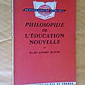 Philosophie, éducation, nouvelle
