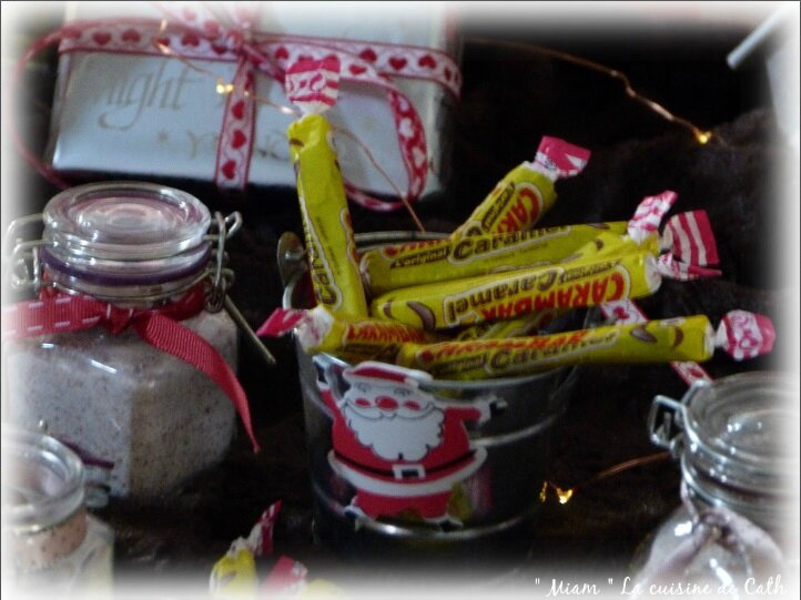 sucre aromatisé carambar