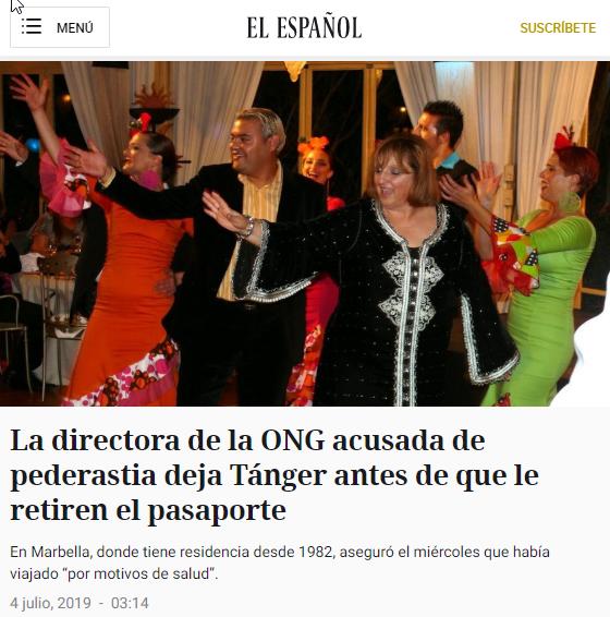 2019-09-13 21_03_06-La directora de la ONG acusada de pederastia deja Tánger antes de que le retiren