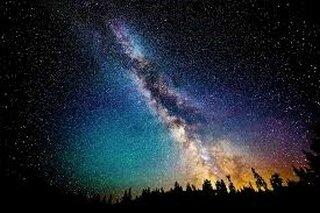 gal-La nuit voie lactée