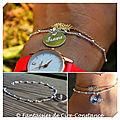 bracelet boules argent Isaure