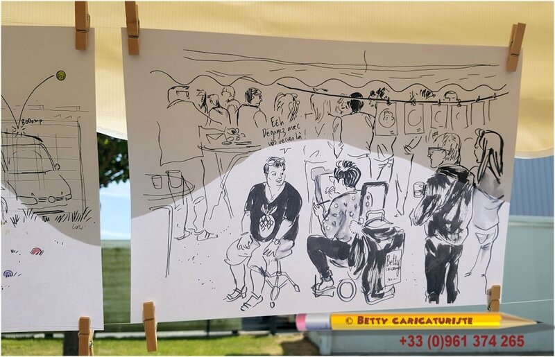 170701 Betty caricaturiste dessinée par Camille Ulrich dessinateur illustrateur