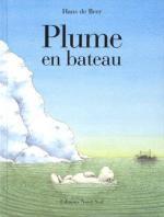 Hans de Beer-Plume en bateau