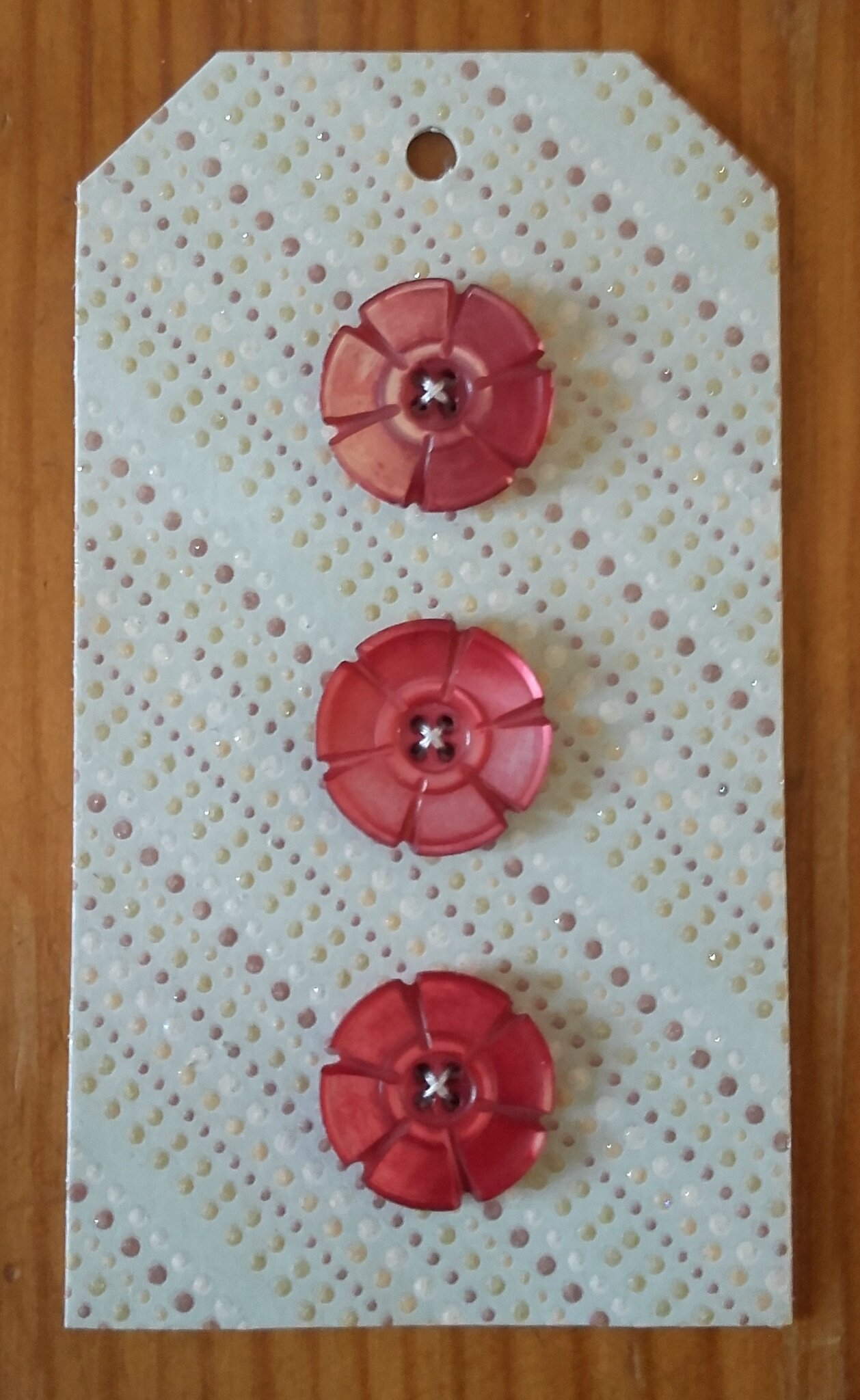 Cartonnettes de boutons (2)
