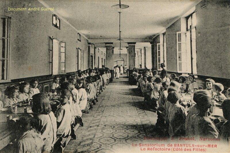 523 Le Sanatorium Le Réfectoire (Côté des Filles)