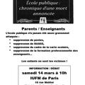 Portes ouvertes le 14 mars à l'iufm