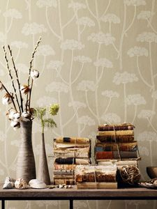 Anise linen cream wallpaper detail_lr