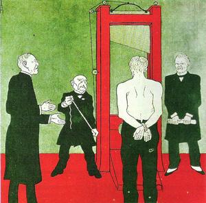 Caricature de Traité de Versailles