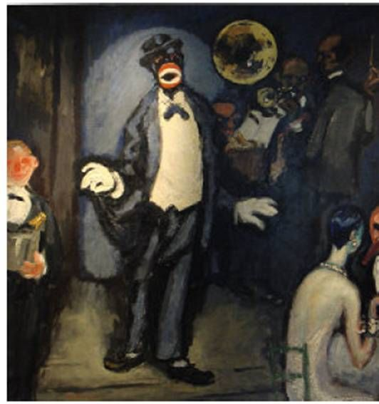 Le_nightclub__le_chanteur_Johnny_Hudgins_1920_de_Kees_van_Dongen