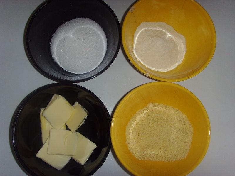 Pâte à crumble