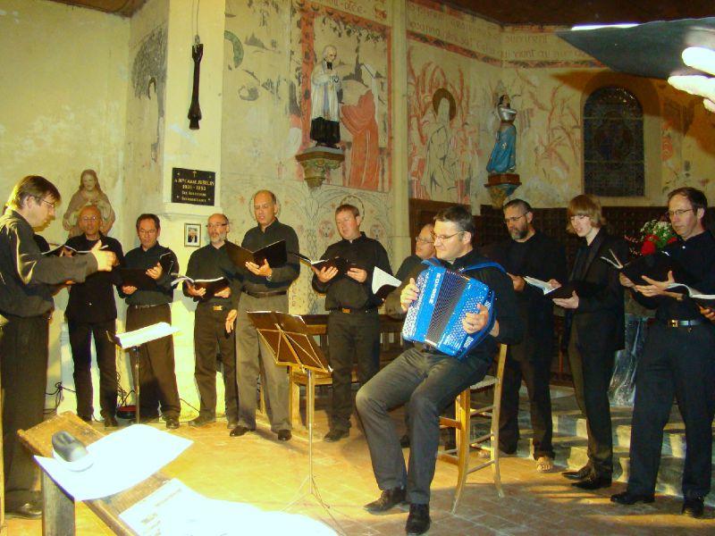 Choeur d'hommes du Conservatoire de Laon