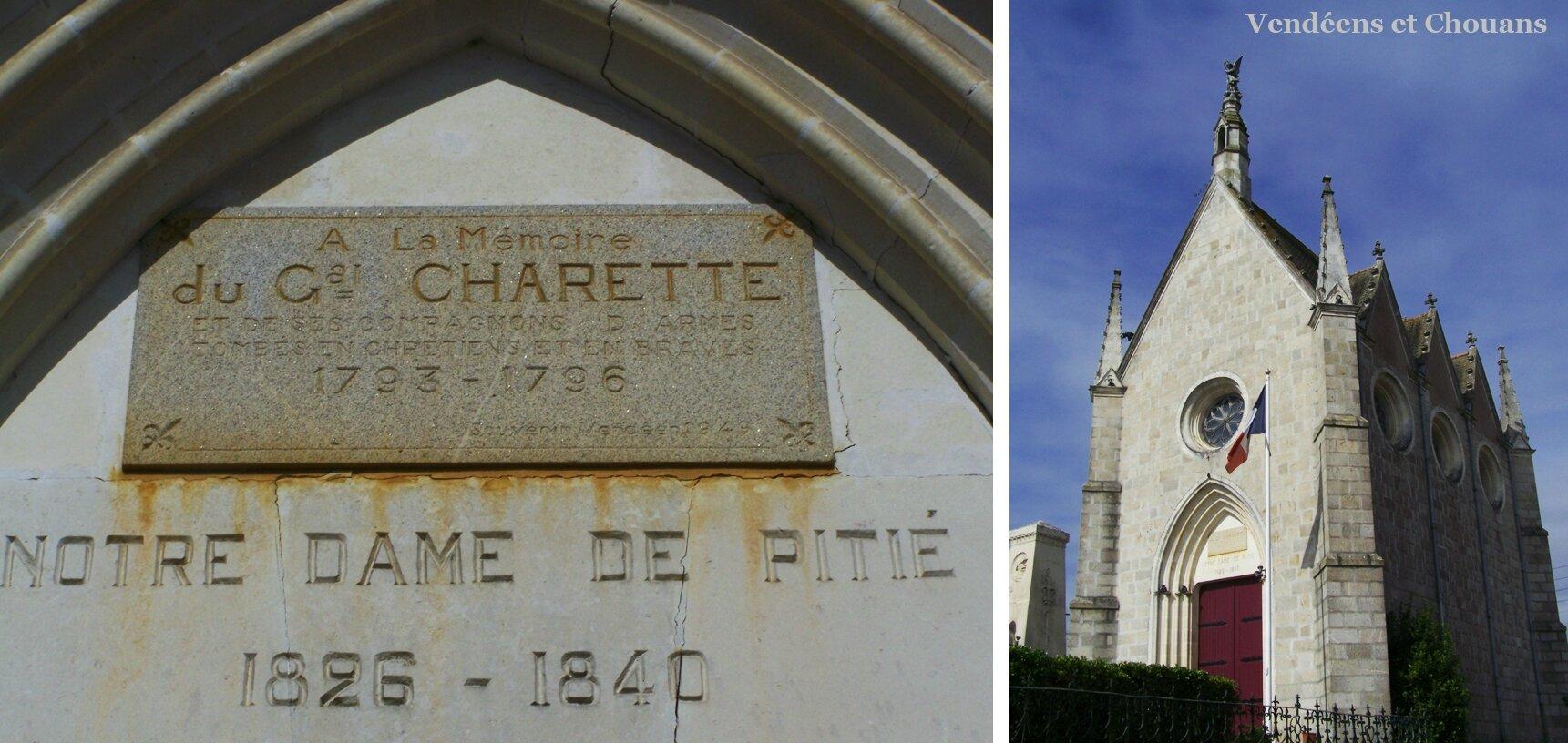 Legé (44) – Chapelle Notre-Dame de Pitié (1949)