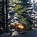 La légende de la fontaine de l'ours - retour à boscodon (embrunais)
