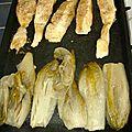 Filet de perche mariné et cuit a la planche