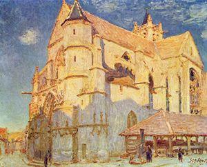 Sisley_Leglise_de_Moret_Plein_soleil_1893_huile_sur_toile_Musee_des_Beaux_Arts_Rouen